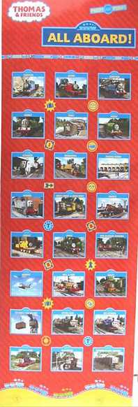 Collage 24X36 THOMAS AND FRIENDS POSTER All Aboard